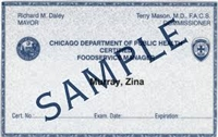 City of Chicago Food Service Sanitation License Fee