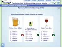 Online-ServSafe Advanced Alcohol (BASSET) Course w/Proctor